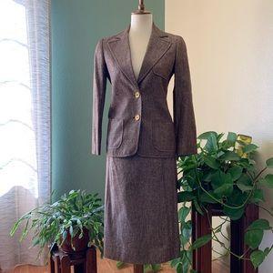 100% Silk VINTAGE Celine Suit!!!